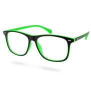 Groen & Zwarte Lion Retro Zonnebril