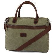 Shane Green & Brown Laptop Bag