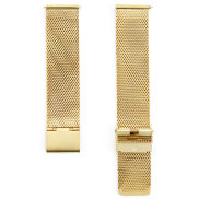 Gold-toned Metallic Chain Watch Strap