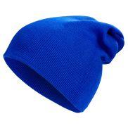 Long beanie bleu