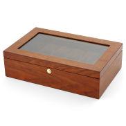 Caja de madera de fresno para 12 relojes
