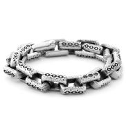 Steel Brick Bracelet