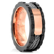Ranger Masculine Steel Ring