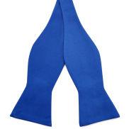Blue Basic Self-Tie Bow Tie