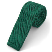 Pine Green Knitted Tie