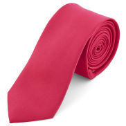 Screaming Pink 6cm Basic Necktie