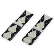 Large Diamond Patterned Sleeve Holders