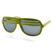 Groene Shutter Shades Zonnebril V2