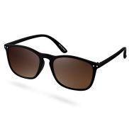 Слънчеви очила Walden с черни рамки и кафяви стъкла