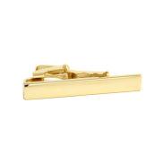 Jednoduchá zlatá spona na kravatu