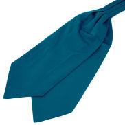 Petrol Blue Basic Cravat