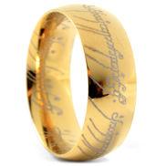 Златист стоманен пръстен Lords