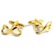 Twisted Hearts Cufflinks