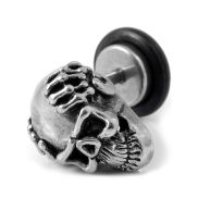 Skull Stud Earring