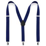 Royal Blue Slim Suspenders