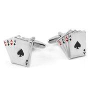 Poker Manschettenknöpfe