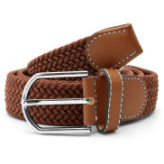 Brown Elastic Belt