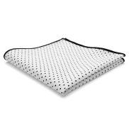 Čtvercový kapesník s bílými tečkami