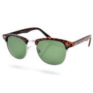 Miami Vintage Sonnenbrille In Braun & Grün
