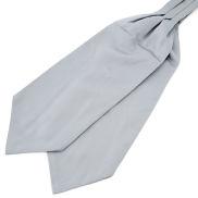 Hellgrauer Basic Krawattenschal