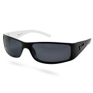 Černo-bílé sluneční brýle menší velikosti