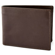 Brown Small Wallet with RFID Blocker