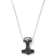 Collier viking à pendentif marteau
