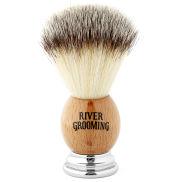 Brocha de afeitar marrón