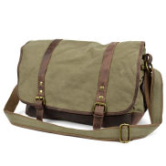Sanmu Grüne Messenger Tasche