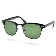 Schwarze Miami Vintage Sonnenbrille