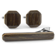 Black Oak Wood Matching Set