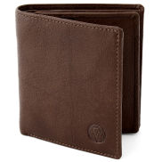 Brown California Slim Vertical Wallet
