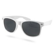 Hvide Retro Solbriller
