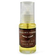 Huile d'argan pour la barbe parfum chêne noir