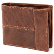 Brown Dual Fold Wallet