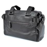 Fekete divatos bőr táska
