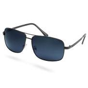 Komplett Schwarze Getönte Polarisierte Sonnenbrille