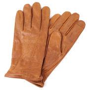 Tankleurige Leren Handschoenen