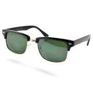 Klassische Club Master Sonnenbrille in Schwarz & Gold