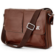 Hautton Brown Leather Shoulder Bag