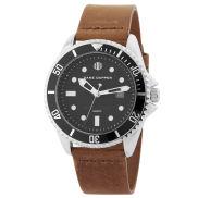 Brązowo-onyksowy zegarek Mariner
