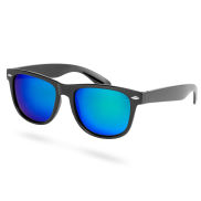 Green-Blue Mirrored Polarized Sunglasses
