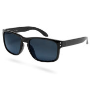 Retro Black Smoke Polarized Sunglasses