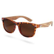 Gafas de sol de madera y carey