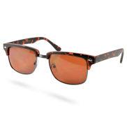 Classici occhiali da sole vintage marroni