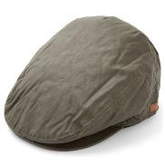 Harmaa flat cap -kangashattu