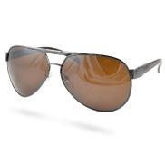 Bruna Cop Aviator Solglasögon