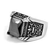 Ατσαλένιο Δαχτυλίδι Roman Senator