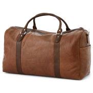 Tan & Brown California Duffel Bag