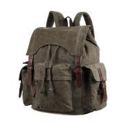 Military Green Laguna Canvas Backpack